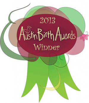 Best Massage Therapist, Austin Birth Awards 2013